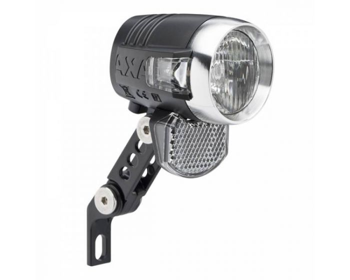 Axa Blueline 50LUX LED koplamp Steady aan/Uit/Auto