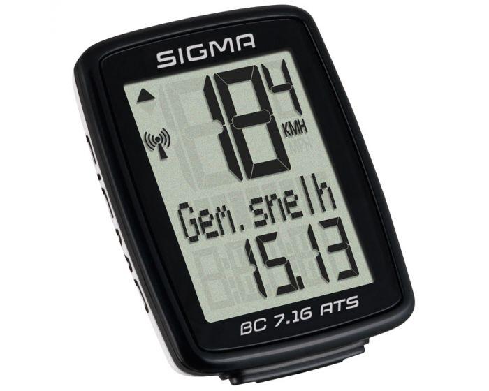 Sigma BC7.16 ATS Fietscomputer draadloos