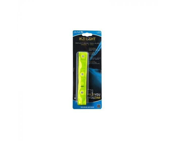 Ikzi reflecterende LED armband 4-YOU