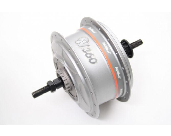 Nuvinci Enviolo N360 CVP Drivetrain SET Zilver/grijs 36 spaaks Velgrem