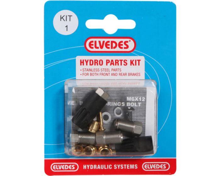 Elvedes hydro onderdelen set 1
