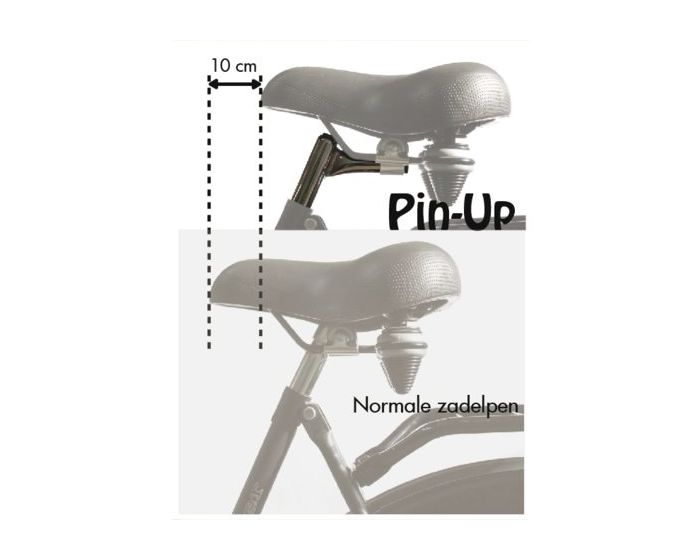 Steco zadelpen Pin-UP 25,4