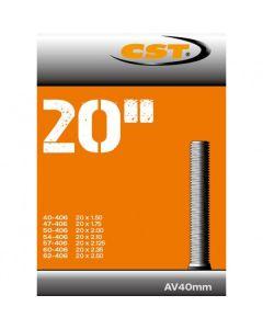 CST Binnenband 20X1.50-2.50 (40/62-406) auto ventiel