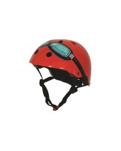 Kiddimoto helm Red Goggle Medium