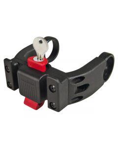 Klickfix Stuuradapter stuurhouder voor elektrische fietsen met slot