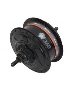 Nuvinci Enviolo N360 CVP Drivetrain SET Zwart 36 spaaks Velgrem