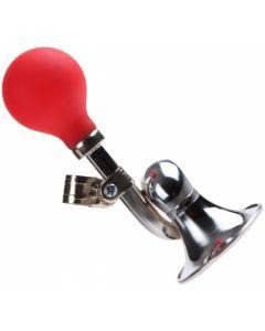 Bel Toeter Kind Pexkids Staal chroom/rood